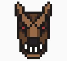 8-bit Werewolf by KingZombie