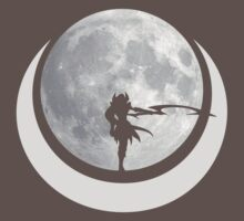 Diana Silhouette Moon by Torxe