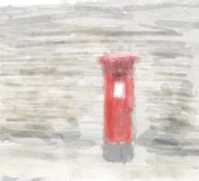 Post Box - Watercolour Efect by Glen Allen