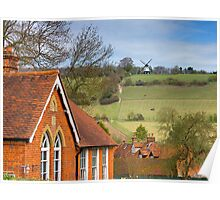 Turville - A Much Used Film Location - 1 Poster