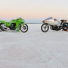 Kawasaki Z1000 and Suzuki GT 750 1 by Frank Kletschkus