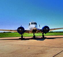 Beechcraft 1956 M18 by aprilann