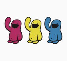 3 up Happyman by Andre Gascoigne