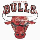 Chicago bulls by McDraw