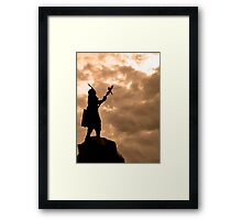 Appealing To The Gods Framed Print