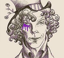 Mad Hatter (purple) by NadddynOpheliah