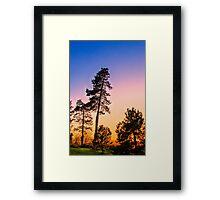 Setting Sun 2 Framed Print