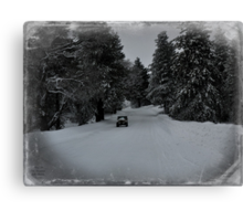 Remembering the winter of 2013. Canvas Print