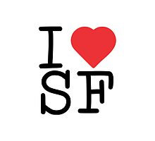 I Heart SF by Vana Shipton