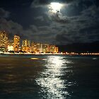 Diamond Head at Night by Jonathan Hill, Jr.
