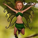 Fairy in Free-Fall by Liam Liberty
