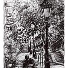 Montmartre 2 by Tatiana Ivchenkova