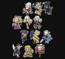 Final fantasy 6 chibi Kids Clothes