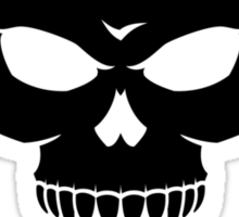 Skull 'n' Tools 2 - Finetune (black) Sticker