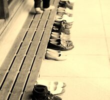 shoes in a row by juliaweston