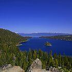 Emerald Bay, Lake Tahoe by Jonathan Hill, Jr.