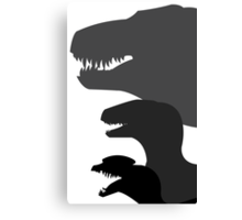 Jurassic Park Poster v1 Canvas Print