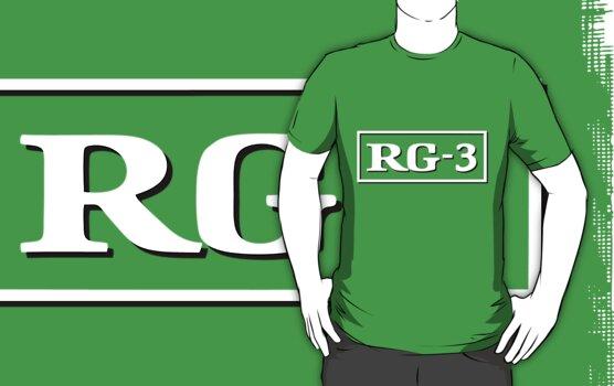 RG3 Movie Rating T-shirt by mathewt