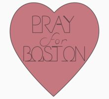 Pray For Boston by abDesigns