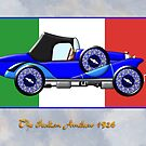 The Italian Amilcar 1926 by Dennis Melling