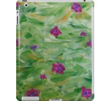 Green Field iPad Case/Skin