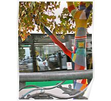 26/4 the knitted tree again Poster