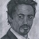 Robert Downey Jr by Bobby Dar