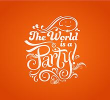 The World is a Party by Jardo de la Pena