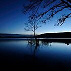 Loch Lomond at dusk by MissyVix