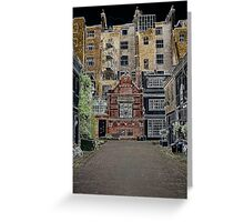 London mews Greeting Card