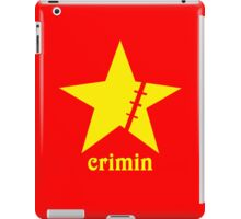 Crimin red iPad Case/Skin