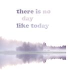 There is no day like today by icantdance
