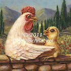 Madonna Hen 2 by © Cindy Schnackel