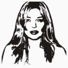 Kate Moss by bloodnlipstick