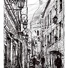 Montmartre 11 by Tatiana Ivchenkova