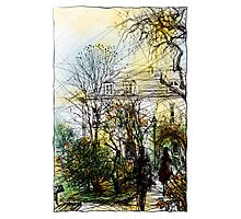 Montmartre 13 in colour Photographic Print
