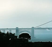Bay Bridge, San Francisco-1 by Elizabeth Bravo