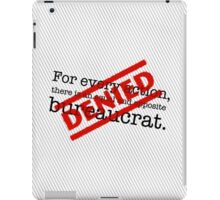 Newtonian Bureaucracy iPad Case/Skin