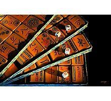 Mad for Mahjong! Photographic Print