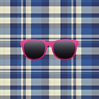 Pink Sunnies and a favorite plaid by nicwise