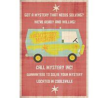 Mystery, Inc Photographic Print