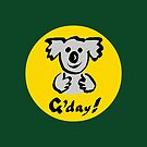G'day Koala by Ron Marton