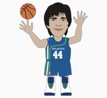 NBAToon of Pete Maravich, player of Utah Jazz by D4RK0