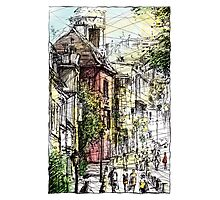 Montmartre 15 in colour Photographic Print