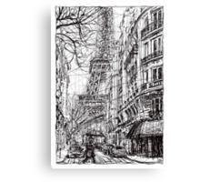 Paris 5 Canvas Print