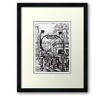 Paris 6 Framed Print