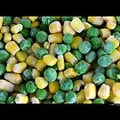 Frozen Vegetables - Peas And Corn by © Sophie Smith
