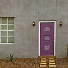 Purple Door #4831 by LoneTreeImages