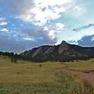 Boulder Colorado Flatirons by Nina Brandin
