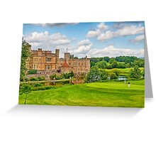 Leeds Castle Golf 3 Greeting Card
